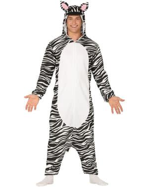 Zebra onesie костюм для дорослих