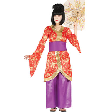 Asiatisches Geisha Kostüm für Damen