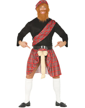 Skotsk overraskelses kostume til mænd