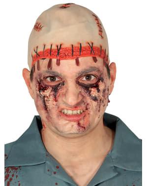Blutige Glatze mit Narben für Erwachsene