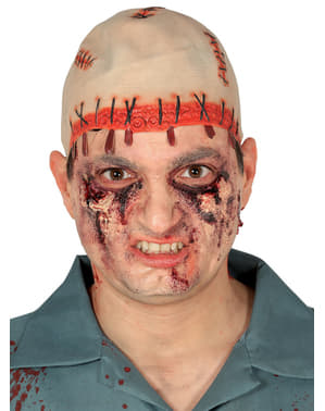 Prothèse chauve terrifiante adulte