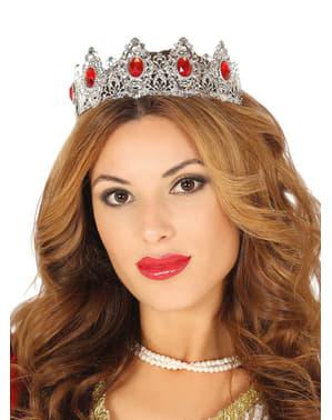 Prinzessin Krone silber für Damen
