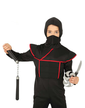 Set de nunchakus ninjas infantil