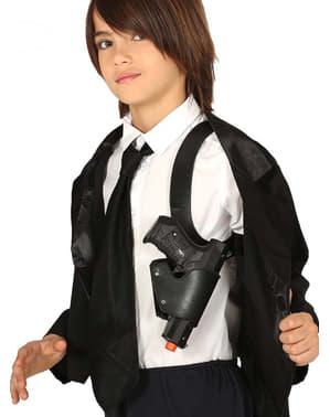 Shoulder holder with gun for kids