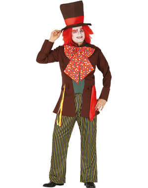 Demented hatter costume for men