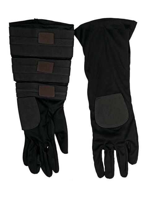 Anakin Skywalker gloves for an adult