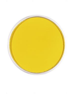 Trucco FX acquarelli giallo