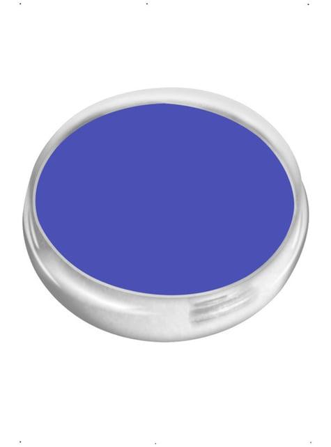 Maquillage FX à l'eau bleu électrique