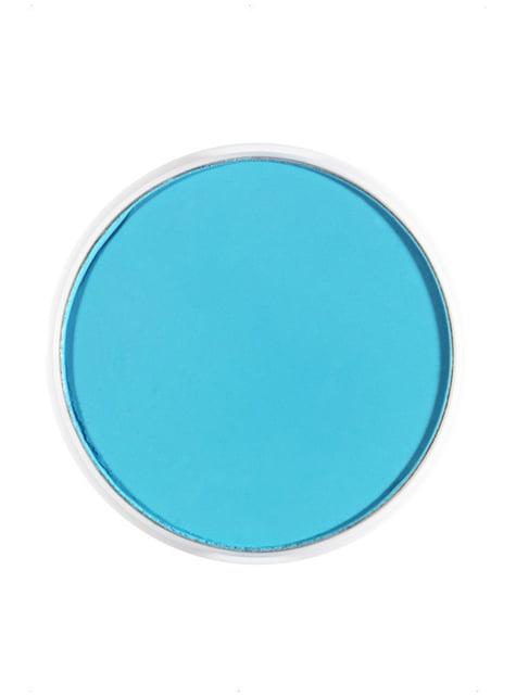 Maquillage FX à l'eau bleu ciel