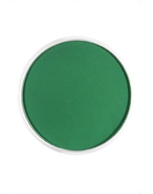Maquillage FX à l'eau vert foncé