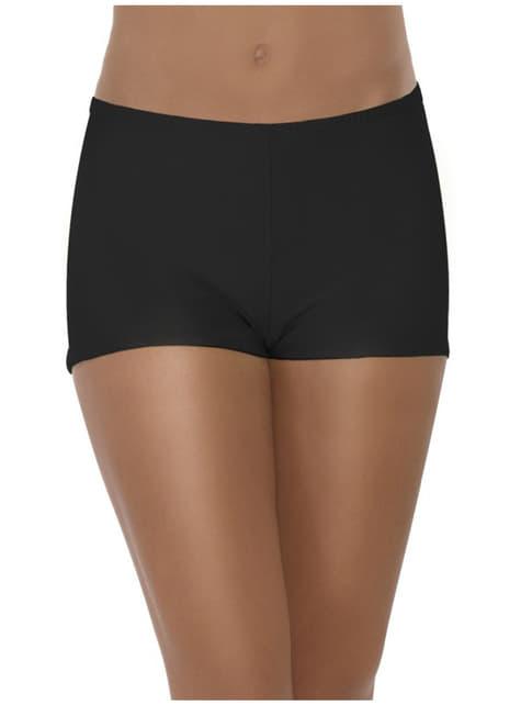 Svarte Sexy Shorts for Dame