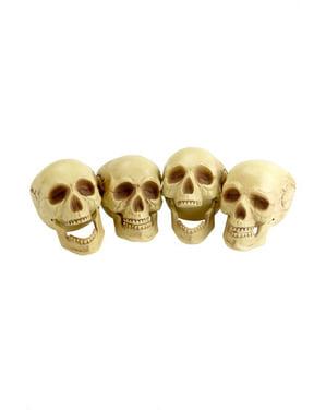 Dödskallar för dekoration