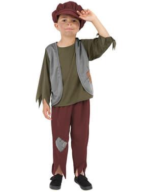 Disfraz de victoriano humilde para niño