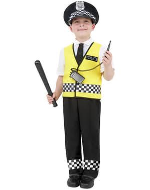 Politi Offiser Kostyme for Barn