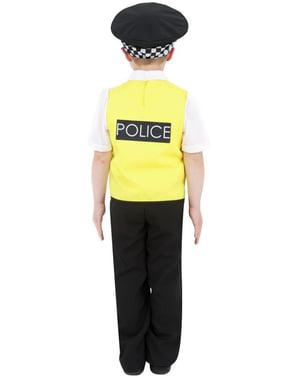Costum agent de poliție pentru copii