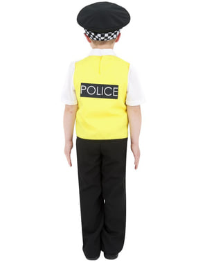 Police officer costume for kids