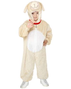 Déguisement d'agneau enfant