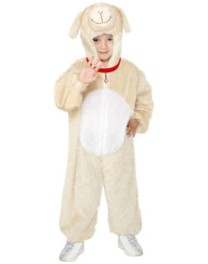Lam kostuum voor kinderen