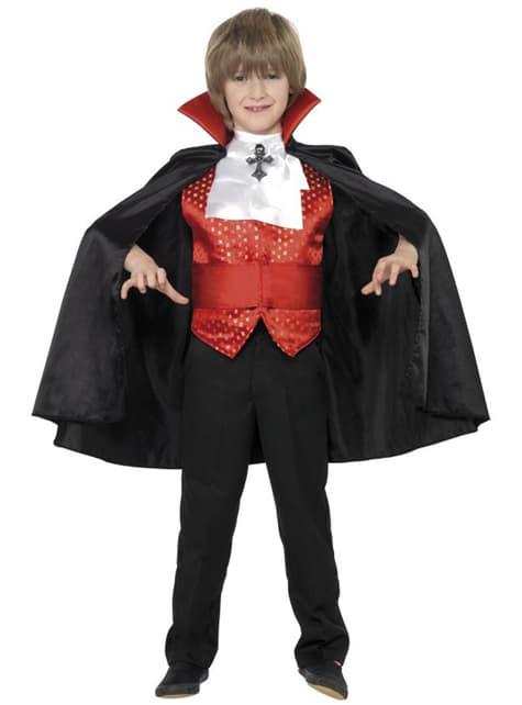 Disfraz de pequeño Drácula para niño