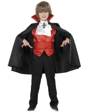 Fato de pequeno Drácula para menino