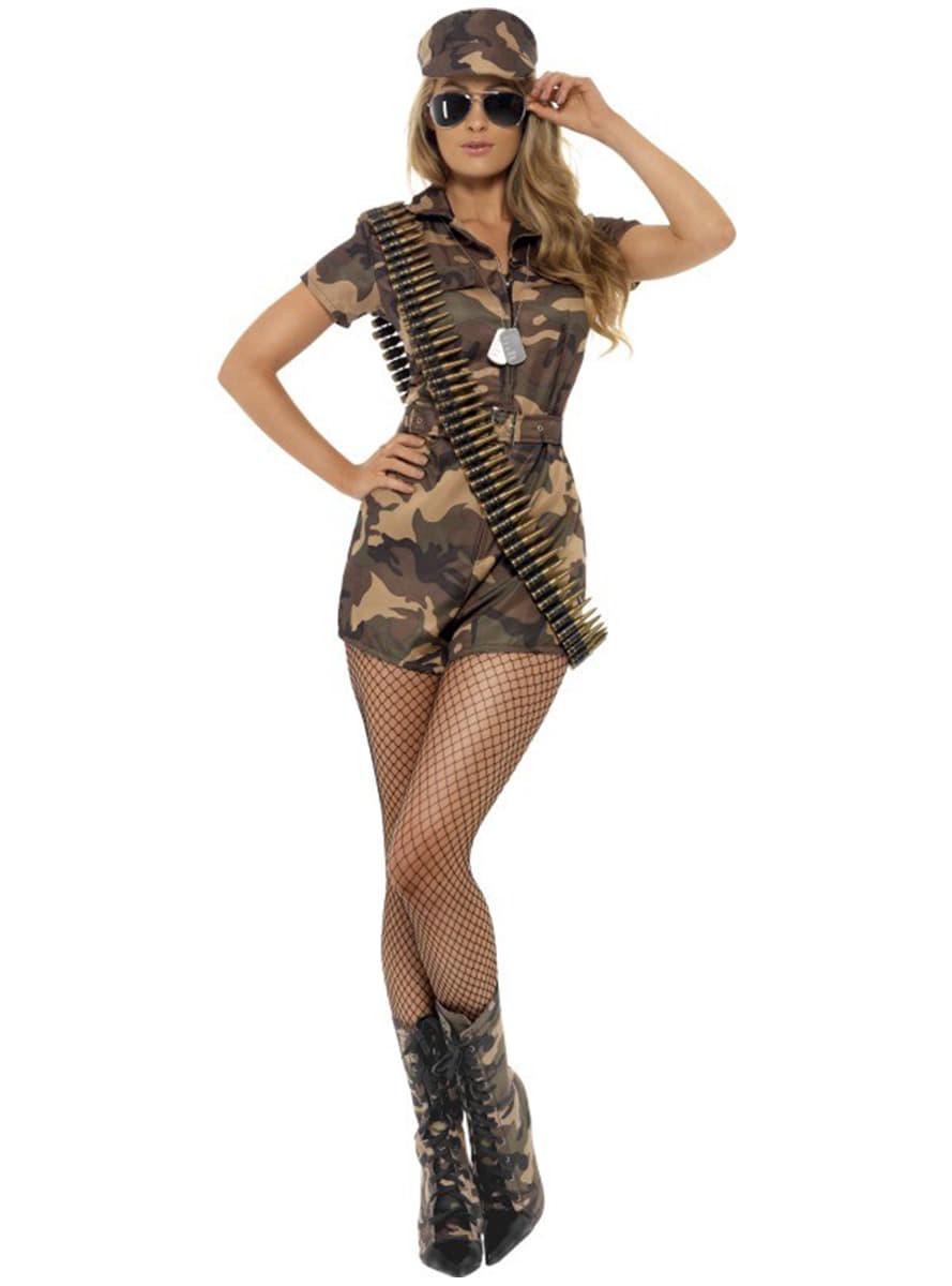 Sexy Militär Kostüm Für Damen Classic Die Lustigsten Modelle