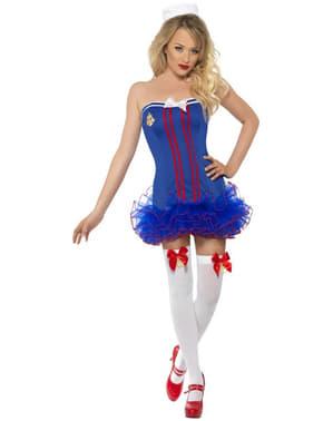 Disfraz de marinera con tutú sexy