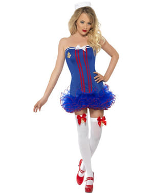 Sexy Sailor Costume with Tutu
