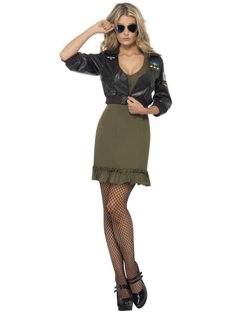 Top Gun Costume Womens