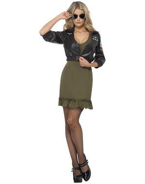 Top Gun Kostyme Dame