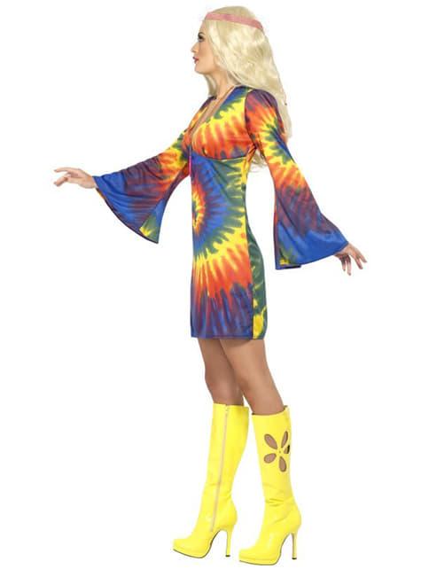 Déguisement Hippie 60's avec robe