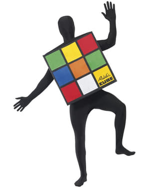 Déguisement du cube de Rubik pour adulte