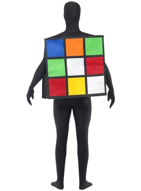 Kostým Rubikova kocka pre dospelých
