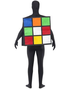 Costume cubo di Rubik adulto