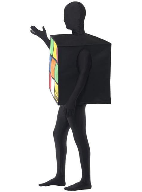 Fato de cubo mágico para adulto