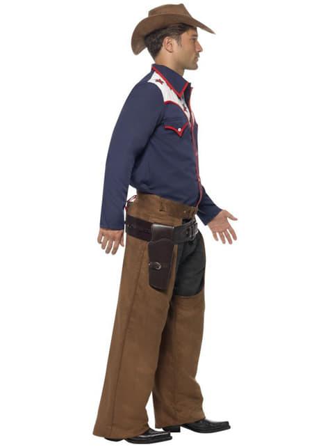 Disfraz de vaquero de rodeo para hombre - original