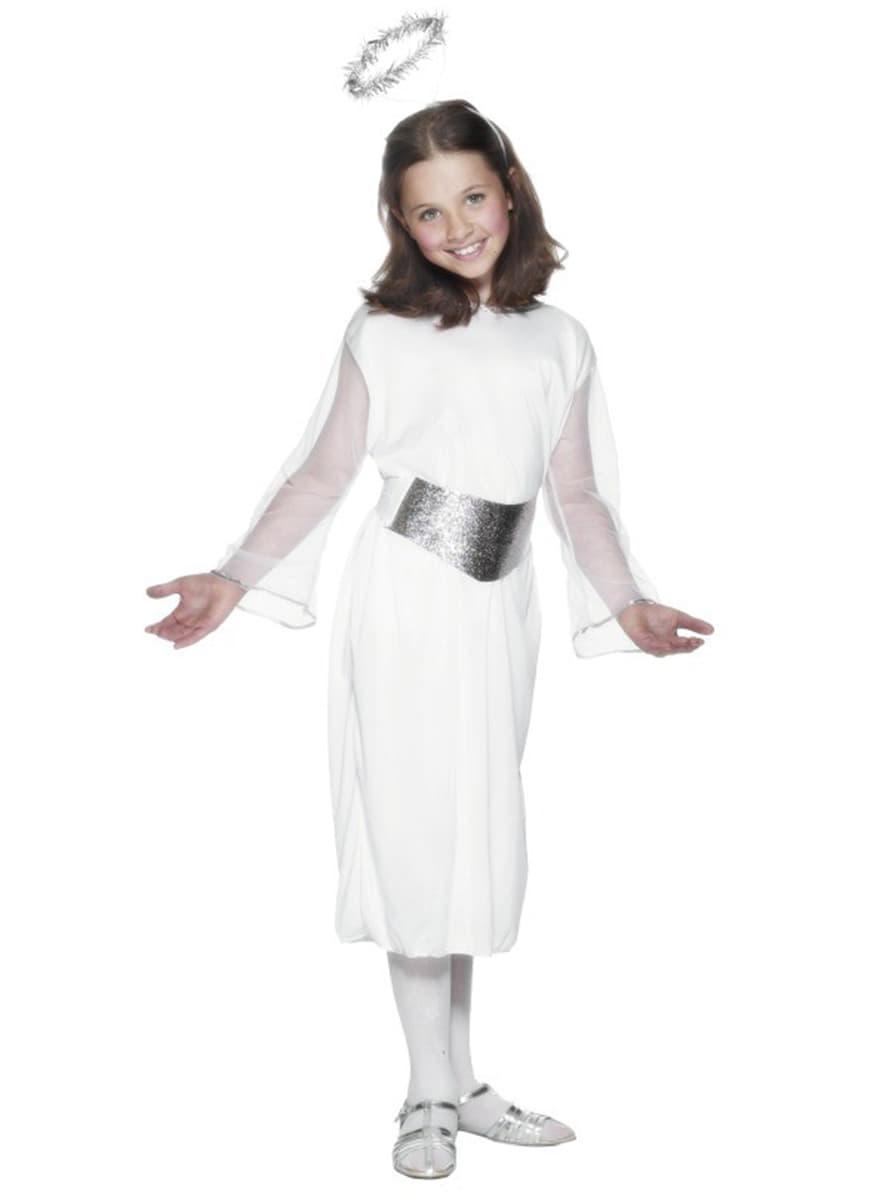 Disfraz de ngel Classic para nia Funidelia