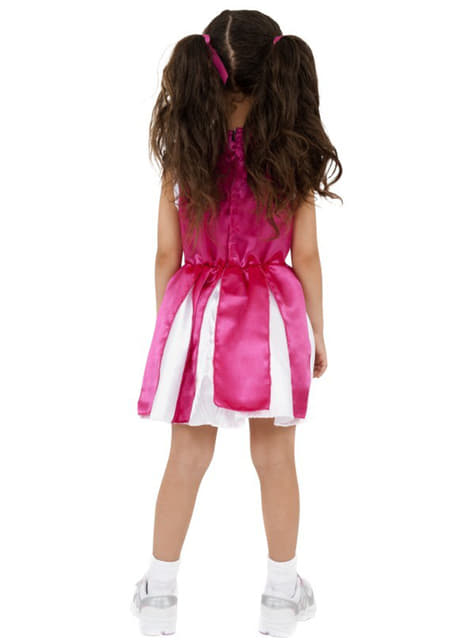 Pink entertainer girl Kids costume