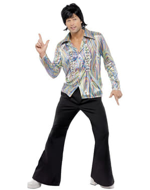 70s psychedelic Man Adult Costume