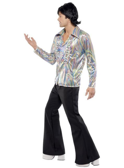 Disfraz de disco años 70 para hombre - original