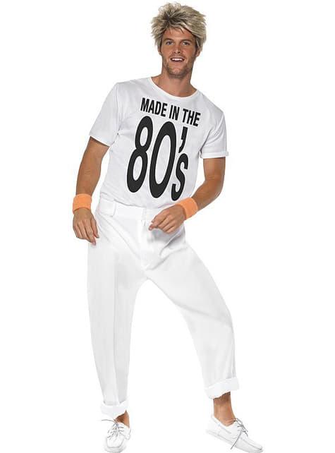 Disfraz de Hecho en los 80