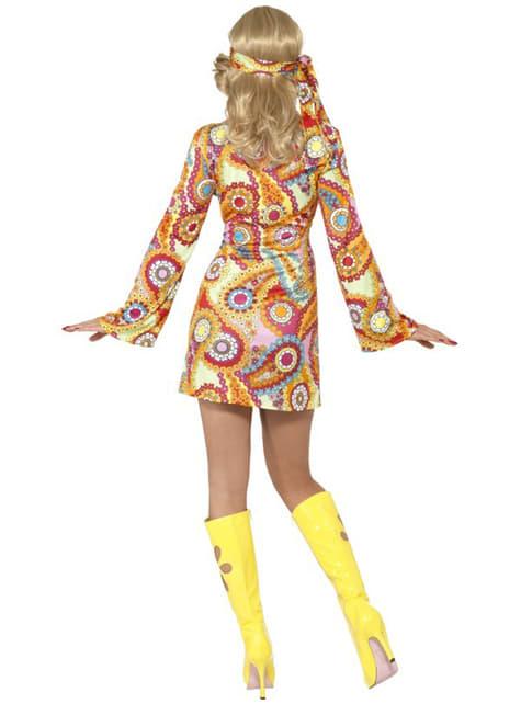 Disfraz de felicidad hippy para mujer - mujer
