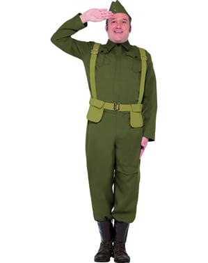 Pánský kostým voják z 2. sv. války