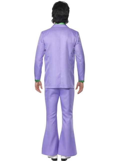 Disfraz de rompecorazones años 70 - hombre