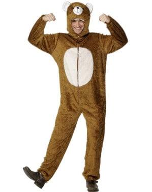 Déguisement d'ours pour adulte