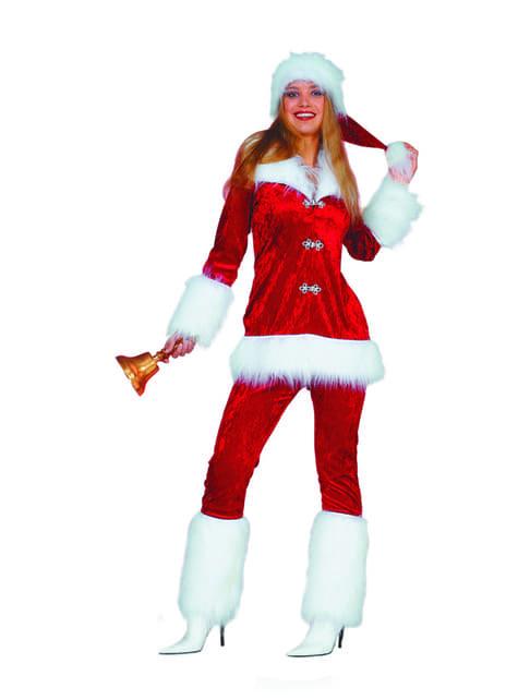 Schattig kerstvrouw kostuum voor vrouw