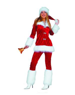 Weihnachtsfrau Kostüm für Damen