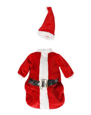 Costum Moș Crăciun deluxe pentru bebeluși