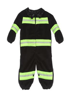 Blåt Brandmand Kostume til Babyer