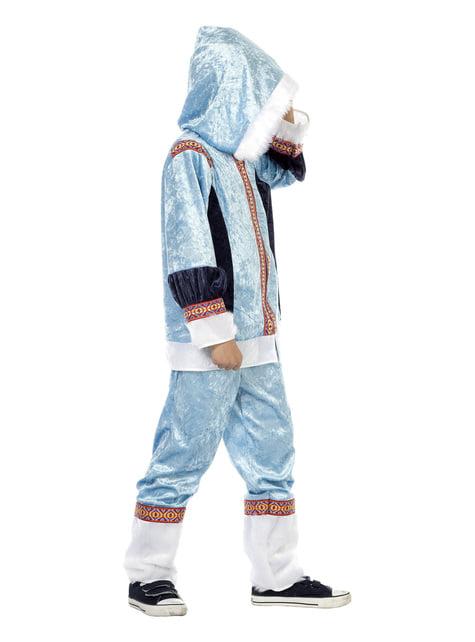 Blue eskimo costume for boys