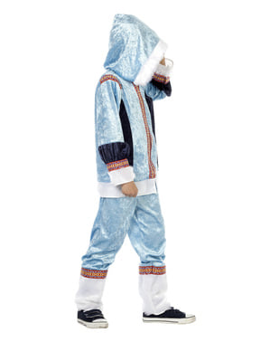 Blue eskimo costume for boys
